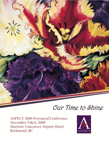 Our Time to Shine Our Time to Shine - ASPECT