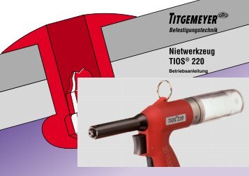 Nietwerkzeug TIOS® 220 - Titgemeyer