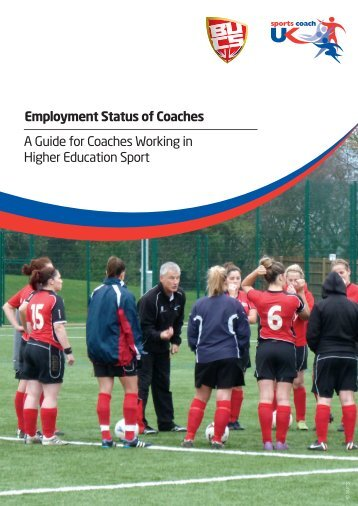 Employment Status of Coaches A Guide for Coaches ... - Archery GB