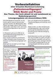 Informationsfolder - Koordination Palliativbetreuung Steiermark