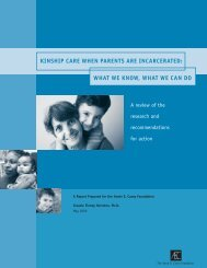 Kinship care when parents are incarcerated - Annie E. Casey ...