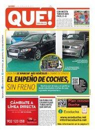 elempeñodecoches, sin freno - Edición impresa - Noticias de España