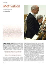 Motivation - Das Orchester