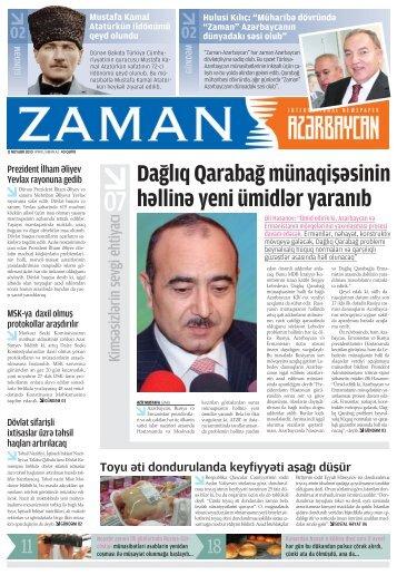 Dağlıq Qarabağ münaqişäsinin hällinä yeni ümidlär yaranıb