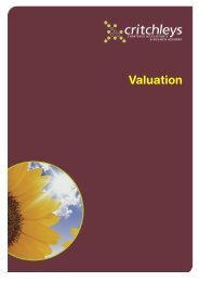 Valuation - Critchleys