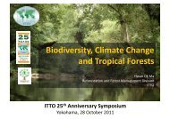 Reforestation and Forest Management slideshow - ITTO