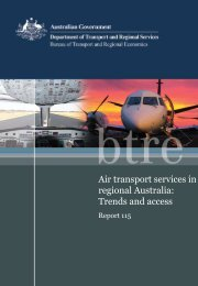 PDF: 5191 KB - Bureau of Infrastructure, Transport and Regional ...