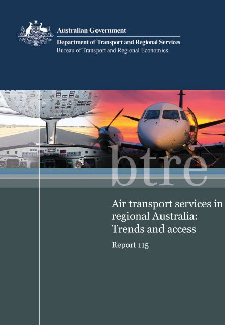 PDF: 5191 KB - Bureau of Infrastructure, Transport and Regional ...