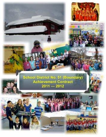 2011-2012 - School District 51