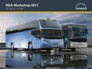 RDA Workshop 2011 - MAN Truck & Bus Deutschland