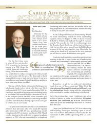 Scholarship News - The Career Center - Florida State University