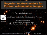 Bayesian mixture models for Poisson astronomical images