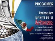 Logística de Exportación hacia México - Procomer