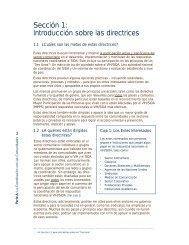 Sección 1: Introducción sobre las directrices - icaso
