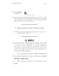 Grid Access Act of 2009. - American Council On Renewable Energy