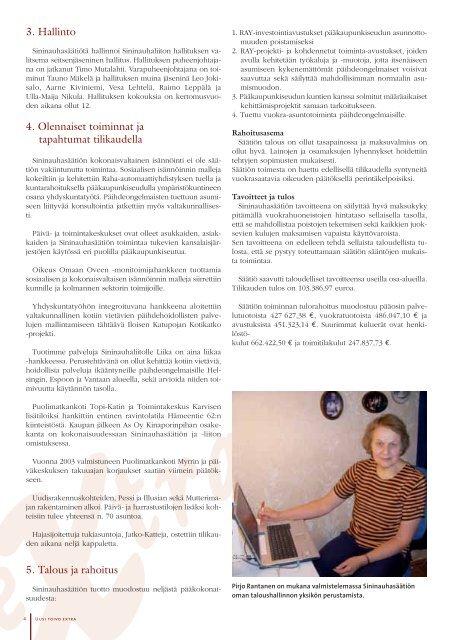 Sininauhasäätiön Vuosikirja 2006 - 2007 - Verkkoviestin