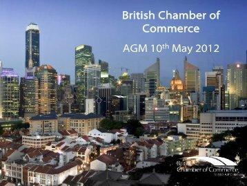 2011 - British Chamber of Commerce Singapore