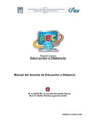 M Manual del docente de Educación a Distancia - UAEH