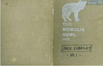 1938 - Camp Mowglis