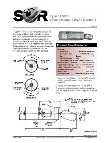 Pneumatic Level Switch - Digitrol