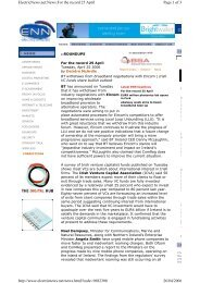 Page 1 of 3 ElectricNews.net:News:For the record 25 April 26/04 ...