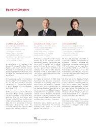 Board of Directors - SingTel