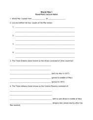 Notes Guide - Branson Public Schools