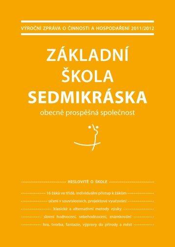 Výroční zpráVa - Sedmikráska