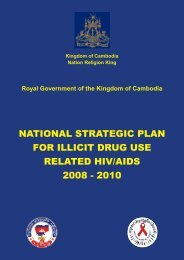 national strategic plan for illicit drug use related hiv/aids 2008 - 2010