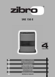 SRE 150 E - Manual - PVG