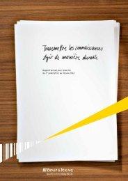 Rapport annuel pour l'exercice du 1er juillet 2011 ... - Ernst & Young