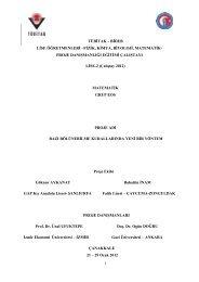 Eos Proje Raporu (PDF)