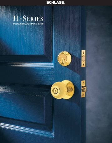 Interconnected Entrance Locks - Tradekey
