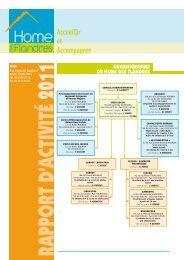 Bilan d'activité 2011 - Le Home des Flandres