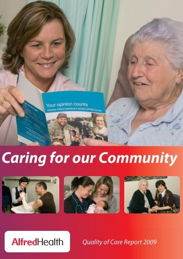 Caring for our Community - Alfred Hospital