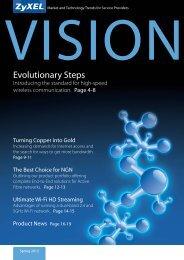 Fiber to the X: No limits! Evolutionary Steps - Partner - ZyXEL