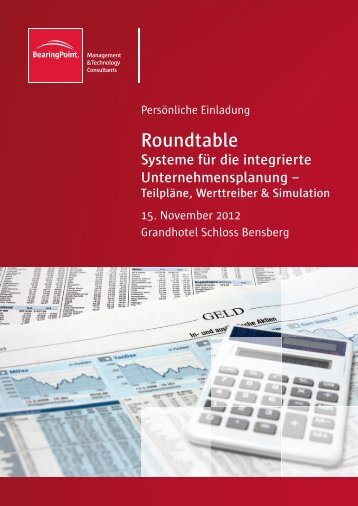 Roundtable - BearingPoint ToolBox