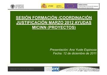 Universitat Politècnica de València - CTT - UPV