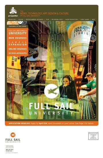 Media Server Page - Full Sail University