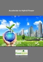 Accelerate to Hybrid Power - Powerstorm