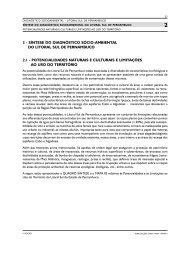 potencialidades naturais e culturais e limitações ao uso do ... - CPRH