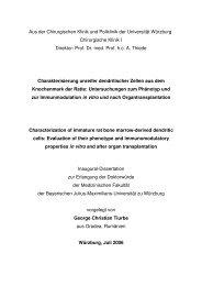 GC Tiurbe MD Thesis Oct-06 - OPUS - Universität Würzburg