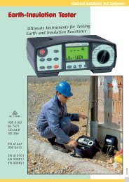 Ultimate Instruments for Testing Earth and Insulation Resistance