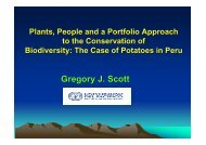 Scott, G.; Plants, people and a portfolio approach to the conservation ...