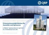 Flyer Austeller QRP 120821.indd - QRP Management Methods ...