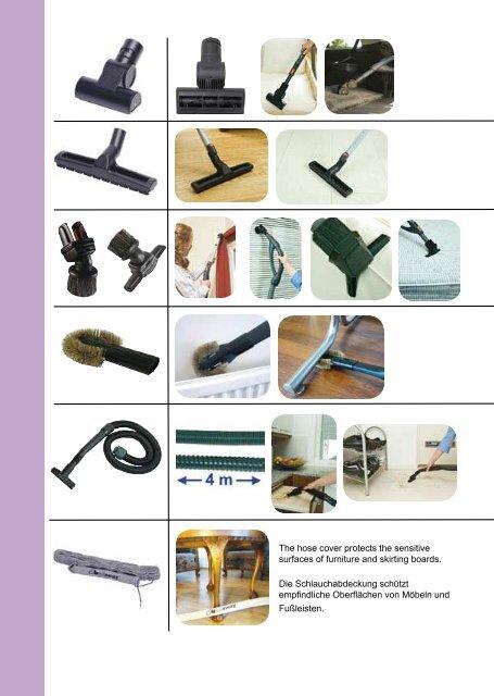 Standard Reinigungszubehörset - Allaway Oy