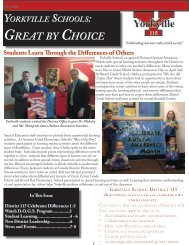 District Newsletter: May 2013 - Yorkville CUSD 115