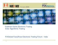 Goldman Sachs Electronic Trading India ... - Plus Concepts