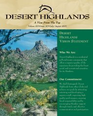 click here - Desert Highlands