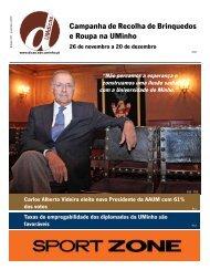 Jornal UMdicas nº107, de 7 de Dezembro de 2012